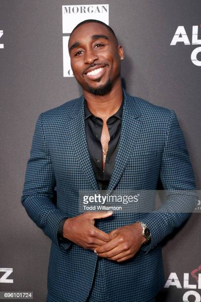 Actor Demetrius Shipp Jr at the 'ALL EYEZ ON ME' Premiere at Westwood Village Theatre on June 14 2017 in Westwood California