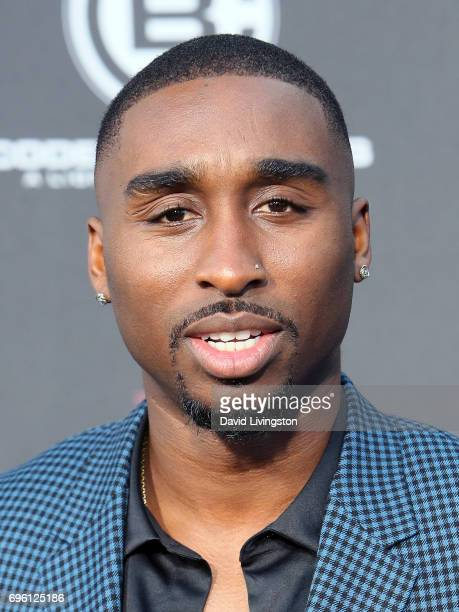 Actor Demetrius Shipp Jr attends the premiere of Lionsgate's 'All Eyez On Me' on June 14 2017 in Los Angeles California