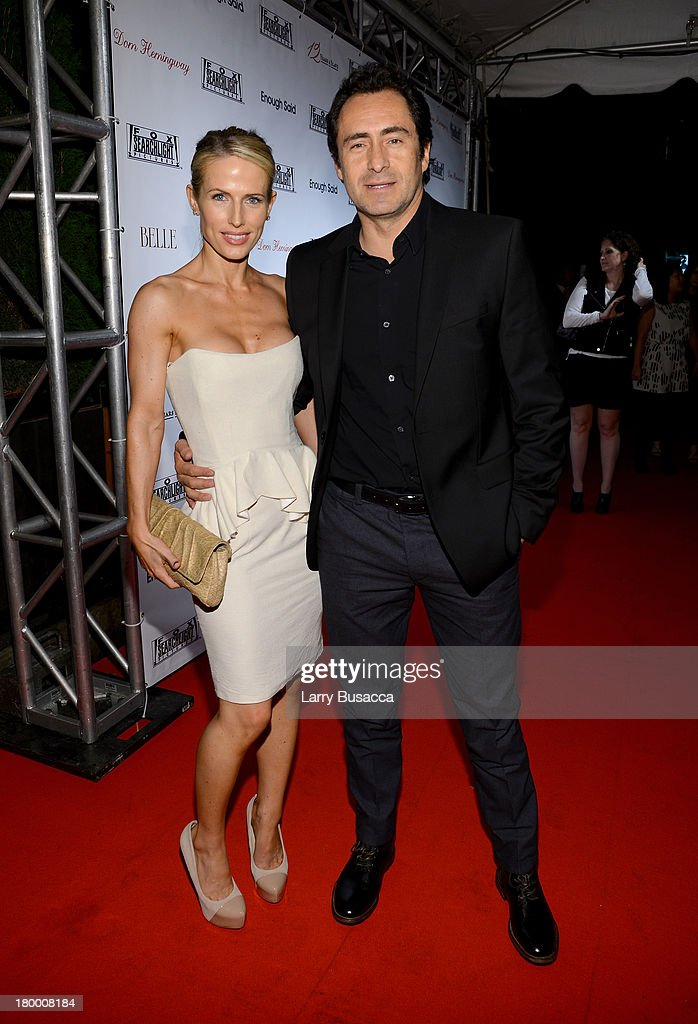 Actor <a gi-track='captionPersonalityLinkClicked' href=/galleries/search?phrase=Demian+Bichir&family=editorial&specificpeople=604427 ng-click='$event.stopPropagation()'>Demian Bichir</a> (R) and wife Lisset Gutierrez attend the Fox Searchlight TIFF party during the 2013 Toronto International Film Festival at Spice Route on September 7, 2013 in Toronto, Canada.