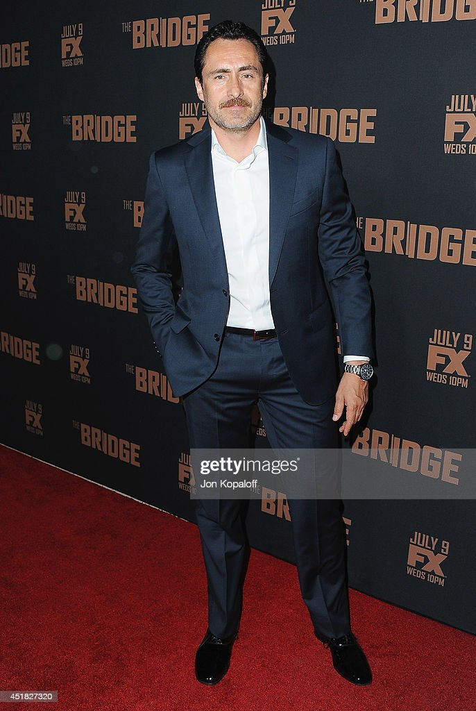 Actor Demian Bichir arrives at the FX's 'The Bridge' Season 2 Premiere at Pacific Design Center on July 7, 2014 in West Hollywood, California.
