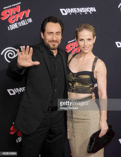 Actor Demian Bichir arrives at the Los Angeles premiere of 'Sin City A Dame To Kill For' at TCL Chinese Theatre on August 19 2014 in Hollywood...