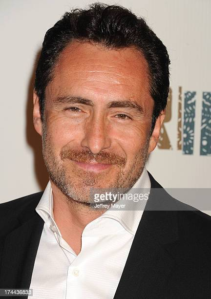 Actor Demian Bichir arrives at the Series Premiere Of FX's 'The Bridge' at DGA Theater on July 8 2013 in Los Angeles California