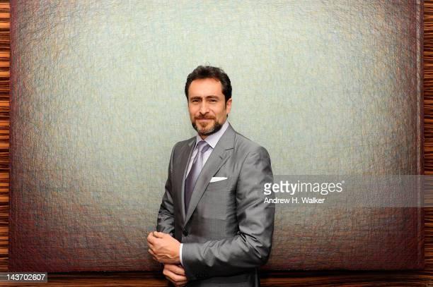 Actor Demian Bichir attends the Ermenegildo Zegna NY Passion for Silk Event hosted by Gildo Zegna at Ermenegildo Zegna on May 2 2012 in New York City