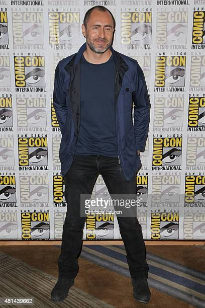 Actor Demian Bichir attends 'The Hateful Eight' press room on July 11 2015 in San Diego California