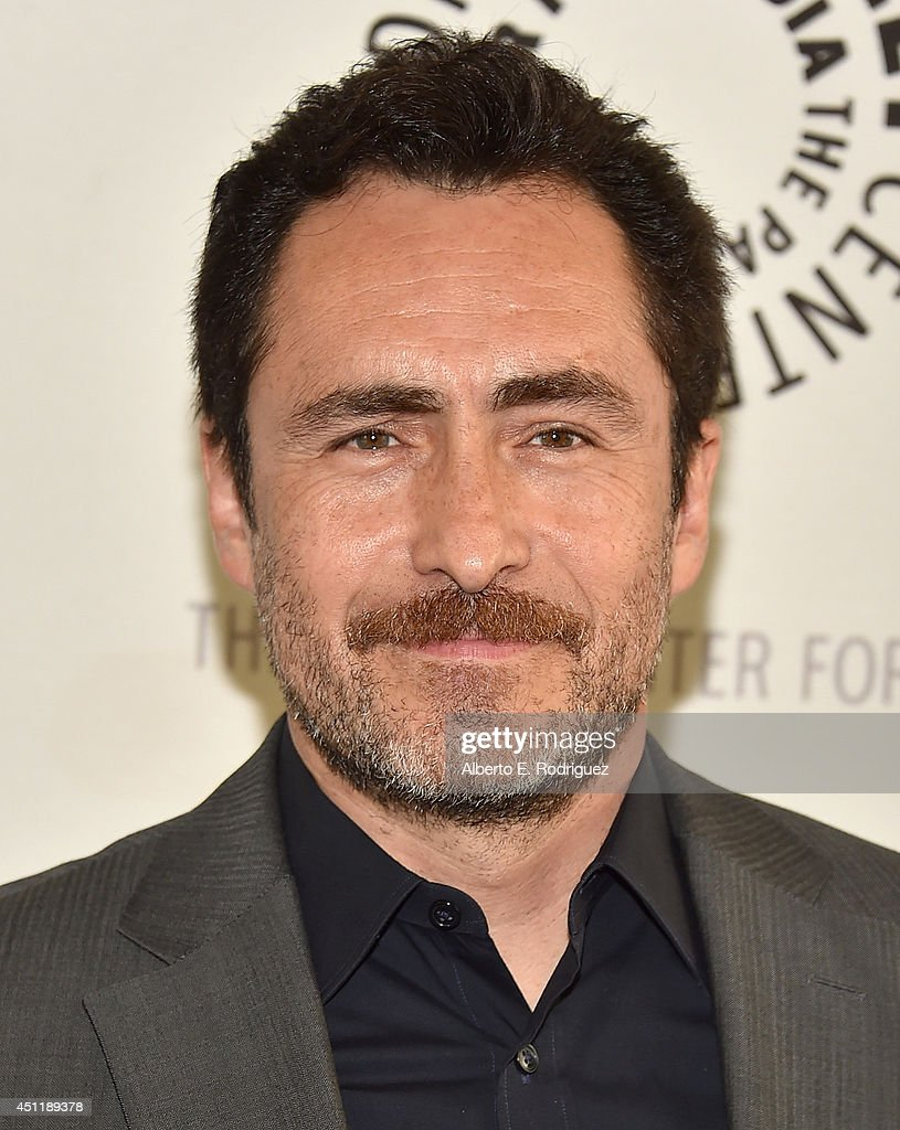 Actor <a gi-track='captionPersonalityLinkClicked' href=/galleries/search?phrase=Demian+Bichir&family=editorial&specificpeople=604427 ng-click='$event.stopPropagation()'>Demian Bichir</a> attends The Paley Center For Media Presents FX's 'The Bridge' at The Paley Center for Media on June 24, 2014 in Beverly Hills, California.