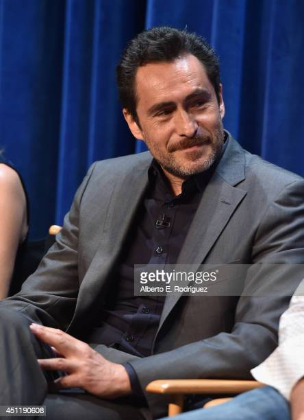 Actor Demian Bichir attends The Paley Center For Media Presents FX's 'The Bridge' at The Paley Center for Media on June 24 2014 in Beverly Hills...