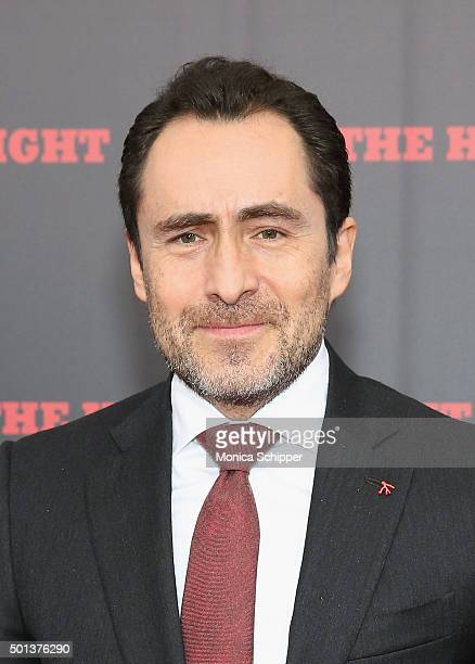 Actor Demian Bichir attends the The New York Premiere Of 'The Hateful Eight' on December 14 2015 in New York City