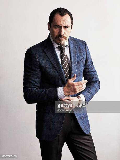 Actor Demian Bichir is photographed for Esquire Latin America on August 1 2015 in Los Angeles California