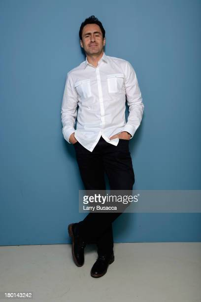Actor Demian Bichir of 'Don Hemingway' poses at the Guess Portrait Studio during 2013 Toronto International Film Festival on September 9 2013 in...
