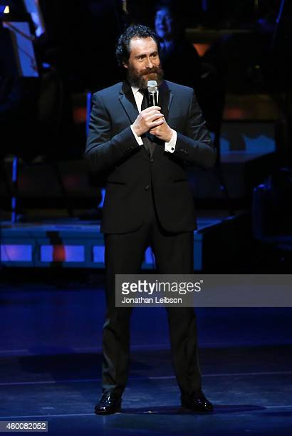 Actor Demian Bichir performs onstage during The Music Center's 50th Anniversary Spectacular at The Music Center on December 6 2014 in Los Angeles...