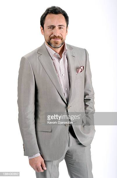 Actor Demian Bichir poses for a portrait during the 84th Academy Awards Nominations Luncheon at The Beverly Hilton hotel on February 6 2012 in...