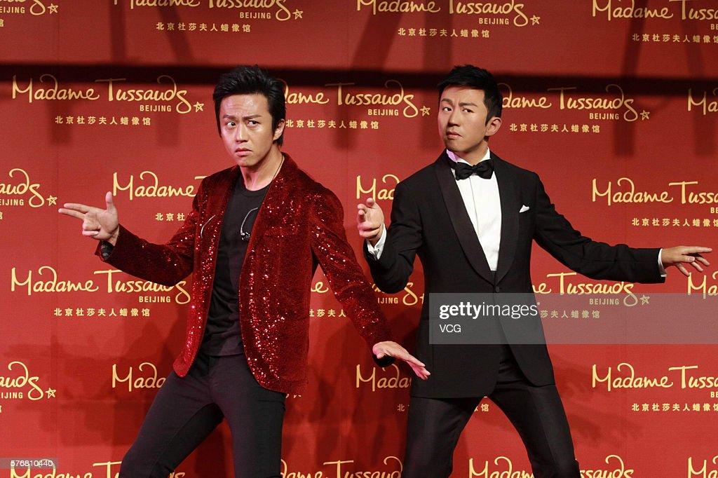Deng Chao Unveils His Wax Figure In Beijing Madame Tussauds