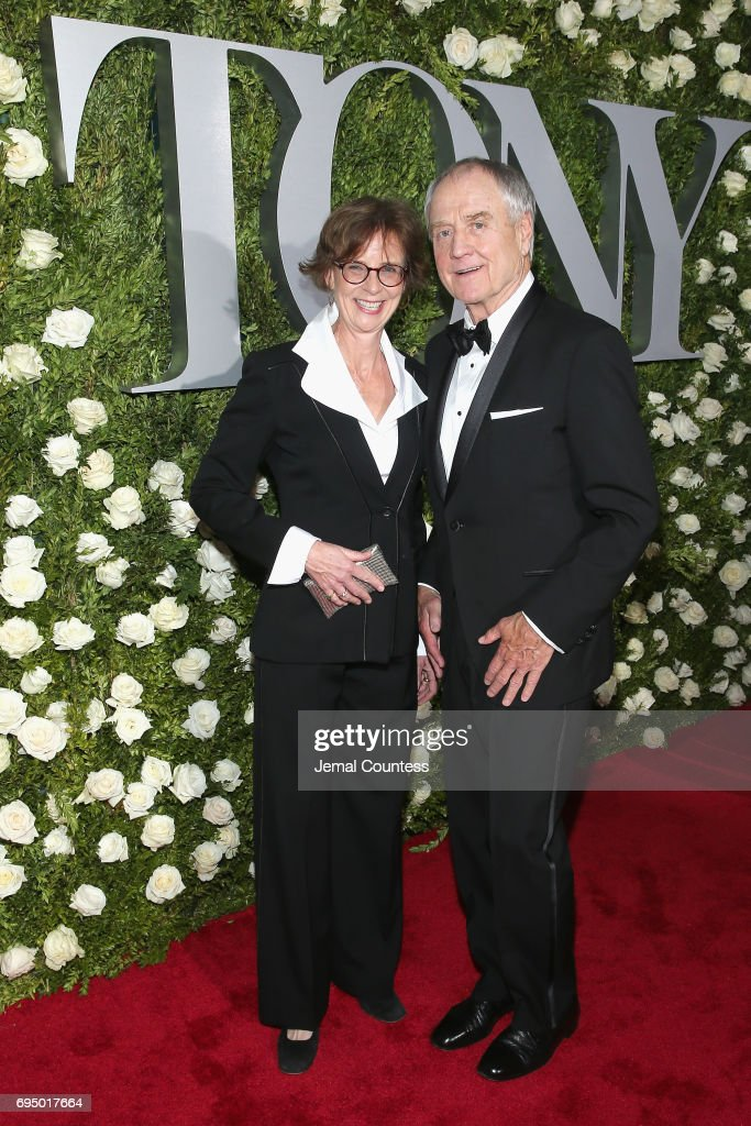 Actor Denis Arndt (R) attends the 2017 Tony Awards at Radio City Music Hall on June 11, 2017 in New York City.