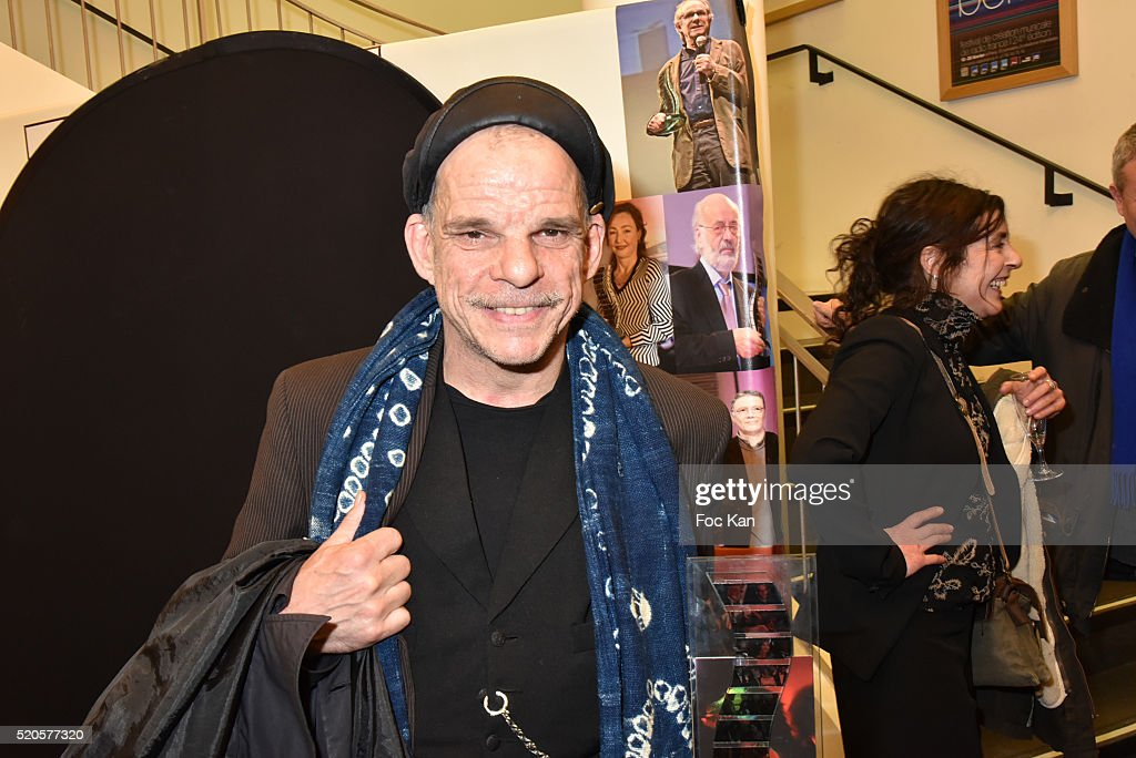 Actor <a gi-track='captionPersonalityLinkClicked' href=/galleries/search?phrase=Denis+Lavant&family=editorial&specificpeople=2992486 ng-click='$event.stopPropagation()'>Denis Lavant</a> attends Henri Langlois : 11th Award Ceremony At Maison de La Radio on April 11, 2015 in Paris; France.