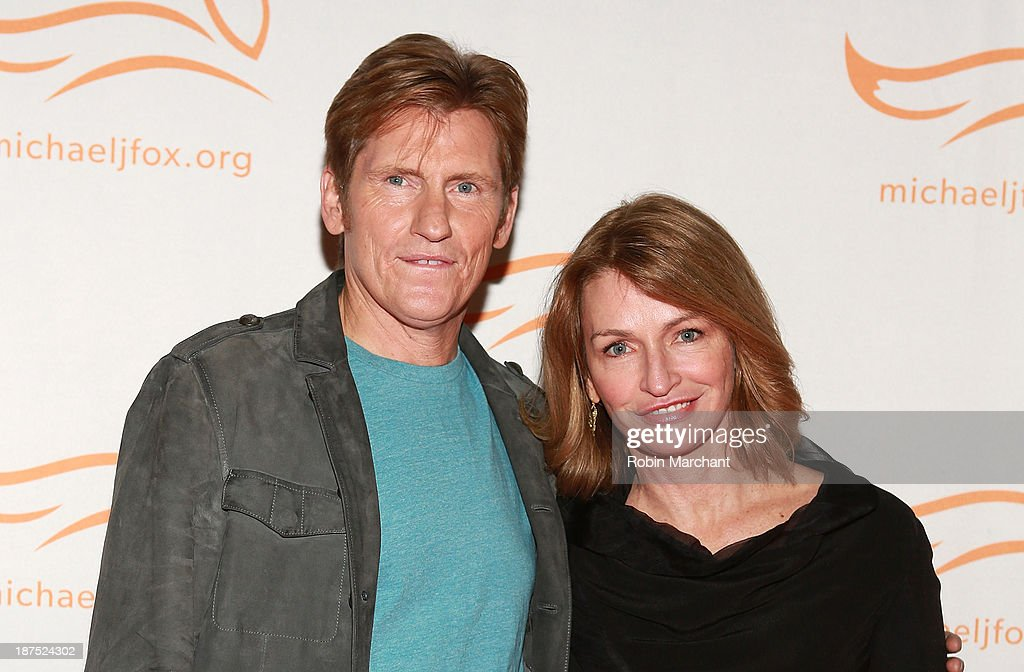 Actor Denis Leary and Ann Lembeck attend 2013 A Funny Thing Happened On The Way To Cure Parkinson's at The Waldorf=Astoria on November 9 2013 in New...