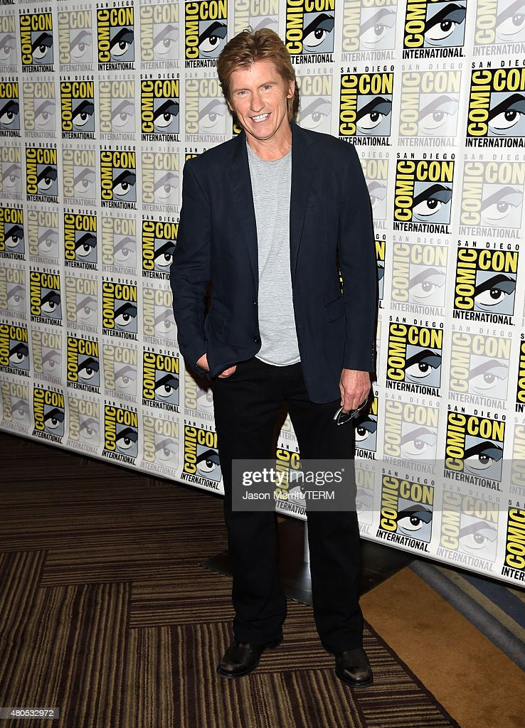 Actor Denis Leary attends FX's 'SexDrugsRockRoll' Press Line during ComicCon International 2015 at Hilton Bayfront on July 12 2015 in San Diego...