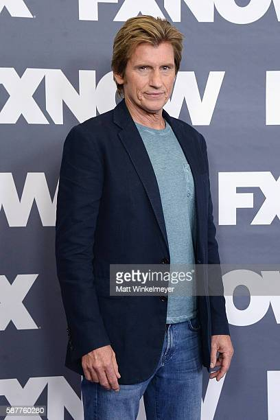 Actor Denis Leary attends the FX Networks TCA 2016 Summer Press Tour on August 9 2016 in Beverly Hills California