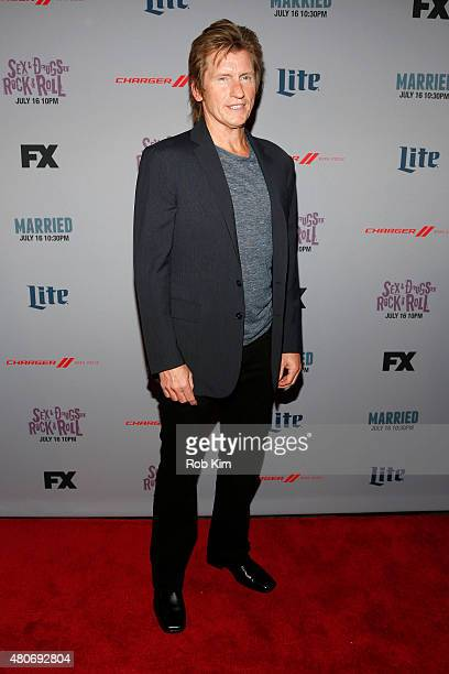 Actor Denis Leary attends the New York Series Premiere of 'SexDrugsRockRoll' at the SVA Theater on July 14 2015 in New York City