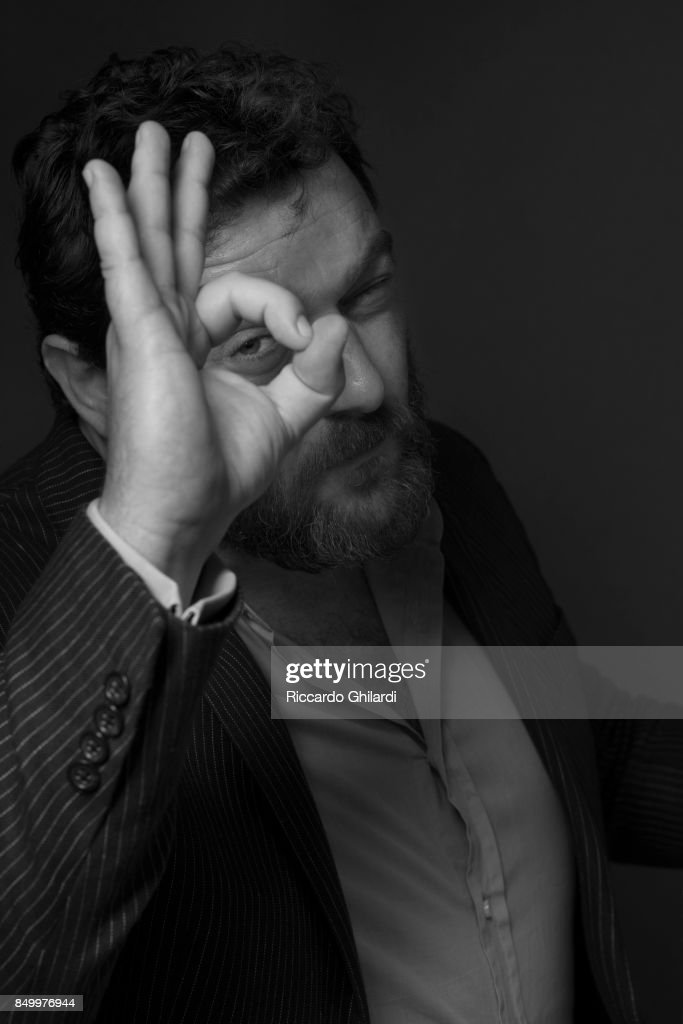 Actor Denis Menochet is photographed for Self Assignment on September 8, 2017 in Venice, Italy. (Photo by Riccardo Ghilardi/Contour by Getty Images).
