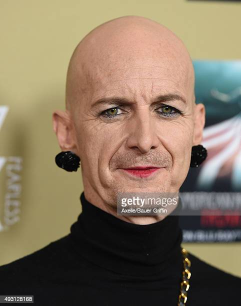 Actor Denis O'Hare arrives at the premiere screening of FX's 'American Horror Story Hotel' at Regal Cinemas LA Live on October 3 2015 in Los Angeles...