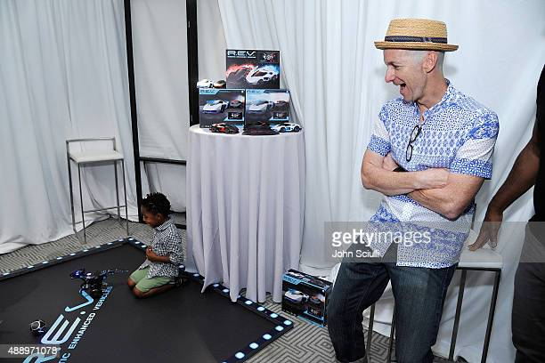 Actor Denis O'Hare attends EXTRA's 'WEEKEND OF | LOUNGE' produced by On 3 Productions at The London West Hollywood on September 18 2015 in West...