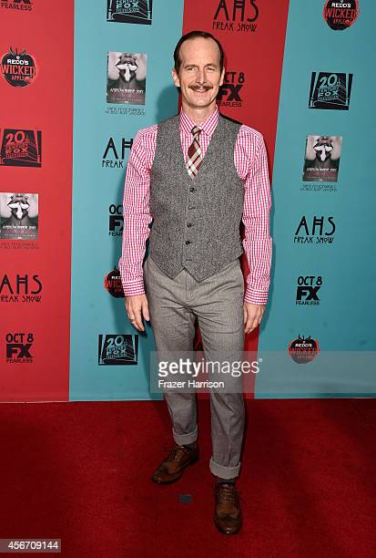 Actor Denis O'Hare attends FX's 'American Horror Story Freak Show' premiere screening at TCL Chinese Theatre on October 5 2014 in Hollywood California