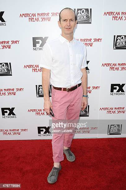 Actor Denis O'Hare attends FX's 'American Horror Story Freakshow' FYC special screening and QA at Paramount Studios on June 11 2015 in Los Angeles...