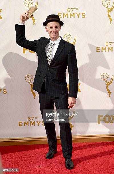 Actor Denis O'Hare attends the 67th Annual Primetime Emmy Awards at Microsoft Theater on September 20 2015 in Los Angeles California