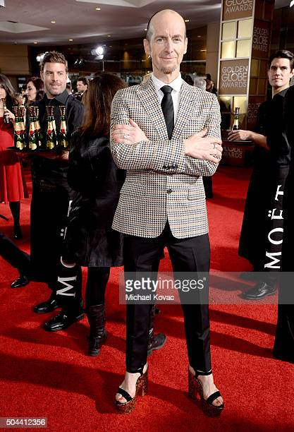 Actor Denis O'Hare attends the 73rd Annual Golden Globe Awards held at the Beverly Hilton Hotel on January 10 2016 in Beverly Hills California