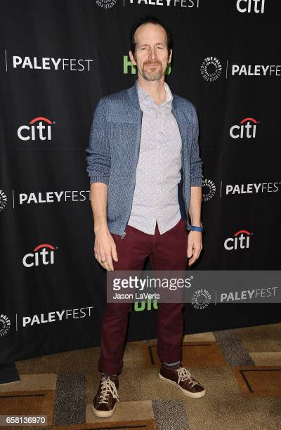 Actor Denis O'Hare attends the 'American Horror Story Roanoke' event at the Paley Center for Media's 34th annual PaleyFest at Dolby Theatre on March...