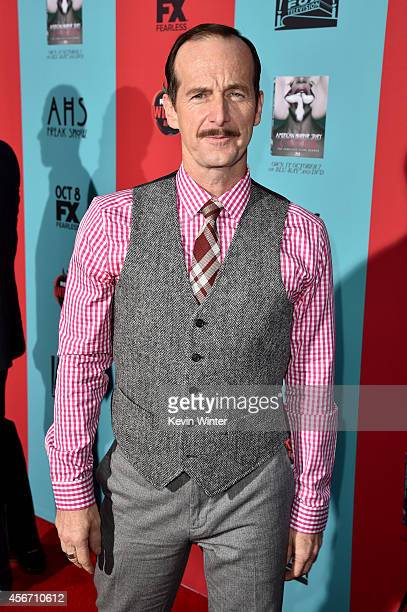 Actor Denis O'Hare attends the premiere screening of FX's 'American Horror Story Freak Show' at TCL Chinese Theatre on October 5 2014 in Hollywood...