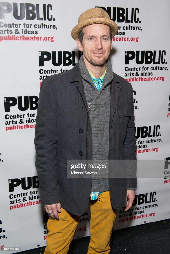Actor Denis O'Hare attends the Under The Radar Festival 2013 Opening Night Celebration at The Public Theater on January 9, 2013 in New York City.