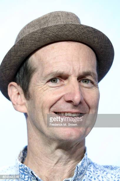 Actor Denis O'Hare of 'Edgar Allan Poe Buried Alive' speaks onstage during the PBS portion of the 2017 Summer Television Critics Association Press...