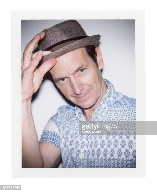 Actor Denis O'Hare of PBS's 'Edgar Allan Poe Buried Alive' is photographed on polaroid film during the 2017 Summer Television Critics Association...