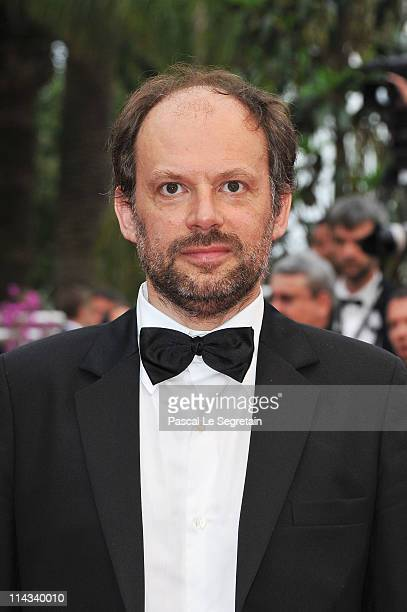 Actor Denis Podalydes attends the 'La Conquete' premiere during 64th Annual Cannes Film Festival at Palais des Festivals on May 18 2011 in Cannes...