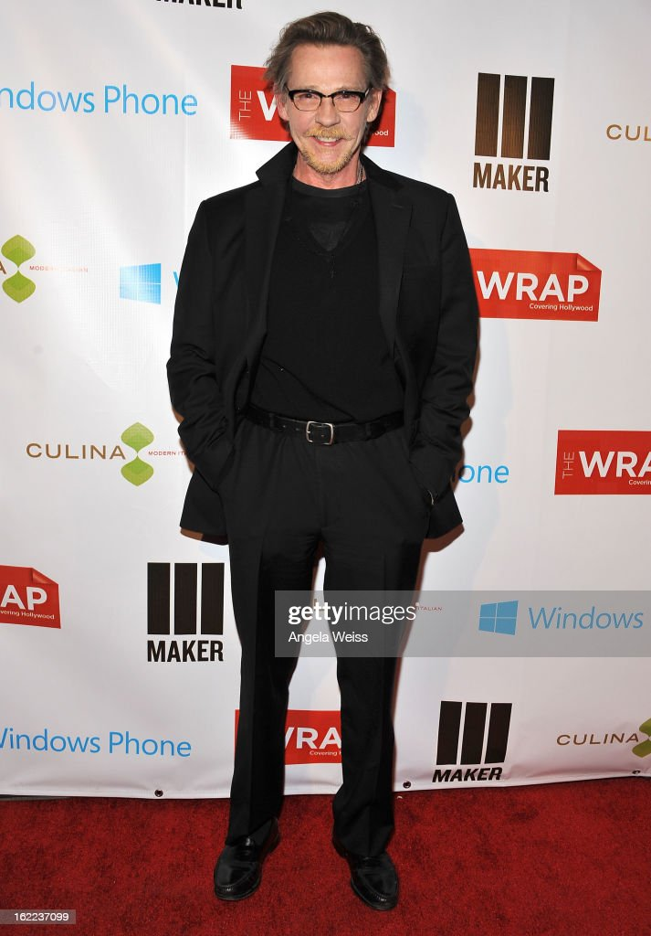 Actor Dennis Christopher arrives at TheWrap 4th Annual Pre-Oscar Party at Four Seasons Hotel Los Angeles at Beverly Hills on February 20, 2013 in Beverly Hills, California.