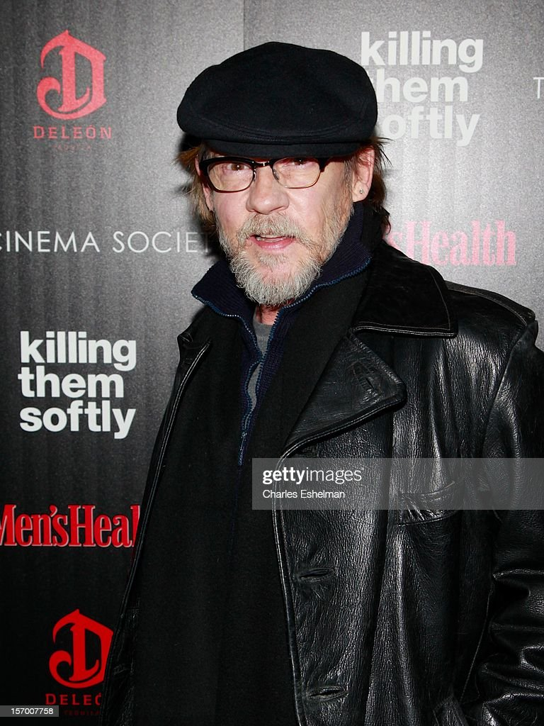 Actor Dennis Christopher attends a screening of The Weinstein Company's 'Killing Them Softly' hosted by The Cinema Society with Men's Health and DeLeon at SVA Theatre on November 26, 2012 in New York City.