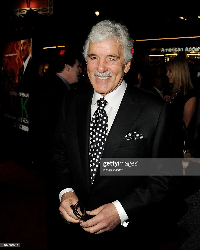 Actor Dennis Farina arrives at the premiere of HBO's 'Luck' at the Chinese Theater on January 25, 2012 in Los Angeles, California.