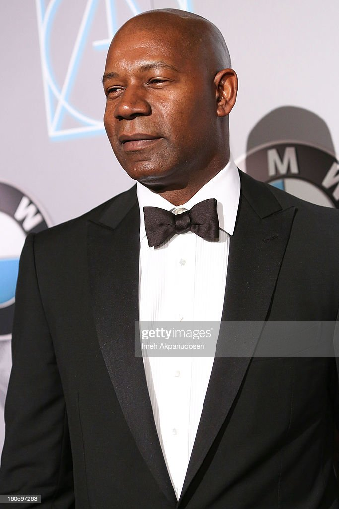 Actor <a gi-track='captionPersonalityLinkClicked' href=/galleries/search?phrase=Dennis+Haysbert&family=editorial&specificpeople=212993 ng-click='$event.stopPropagation()'>Dennis Haysbert</a> attends the 17th Annual Art Directors Guild Awards For Excellence In Production Design at The Beverly Hilton Hotel on February 2, 2013 in Beverly Hills, California.
