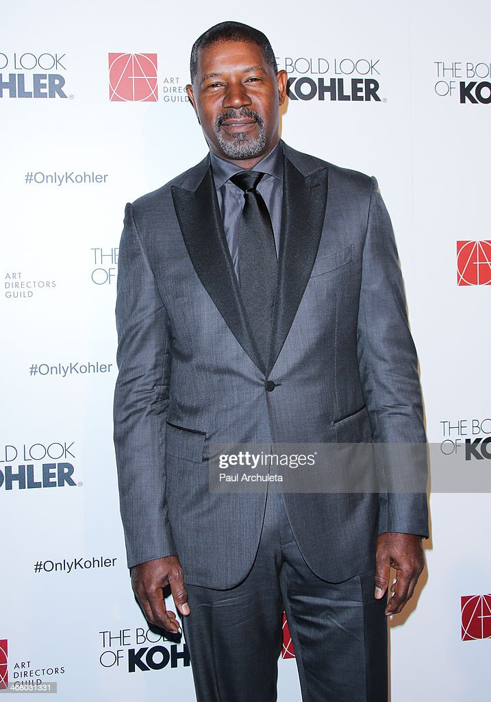 Actor <a gi-track='captionPersonalityLinkClicked' href=/galleries/search?phrase=Dennis+Haysbert&family=editorial&specificpeople=212993 ng-click='$event.stopPropagation()'>Dennis Haysbert</a> attends the 18th Annual Art Directors Guild Excellence In Production Design Awards at The Beverly Hilton Hotel on February 8, 2014 in Beverly Hills, California.