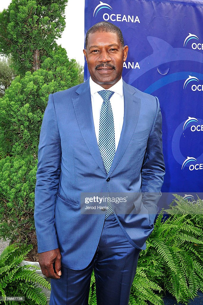 Actor <a gi-track='captionPersonalityLinkClicked' href=/galleries/search?phrase=Dennis+Haysbert&family=editorial&specificpeople=212993 ng-click='$event.stopPropagation()'>Dennis Haysbert</a> attends the 6th annual Oceana's SeaChange summer party on August 18, 2013 in Laguna Beach, California.