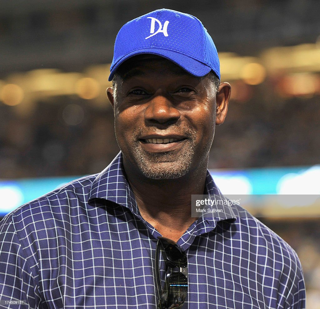 Actor <a gi-track='captionPersonalityLinkClicked' href=/galleries/search?phrase=Dennis+Haysbert&family=editorial&specificpeople=212993 ng-click='$event.stopPropagation()'>Dennis Haysbert</a> attends the MLB game between the Cincinnatti Reds and Los Angeles Dodgers at Dodger Stadium at Dodger Stadium on July 26, 2013 in Los Angeles, California.