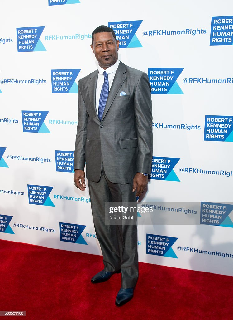 Actor Dennis Haysbert attends the Robert F. Kennedy human rights 2015 Ripple of Hope awards at New York Hilton Midtown on December 8, 2015 in New York City.