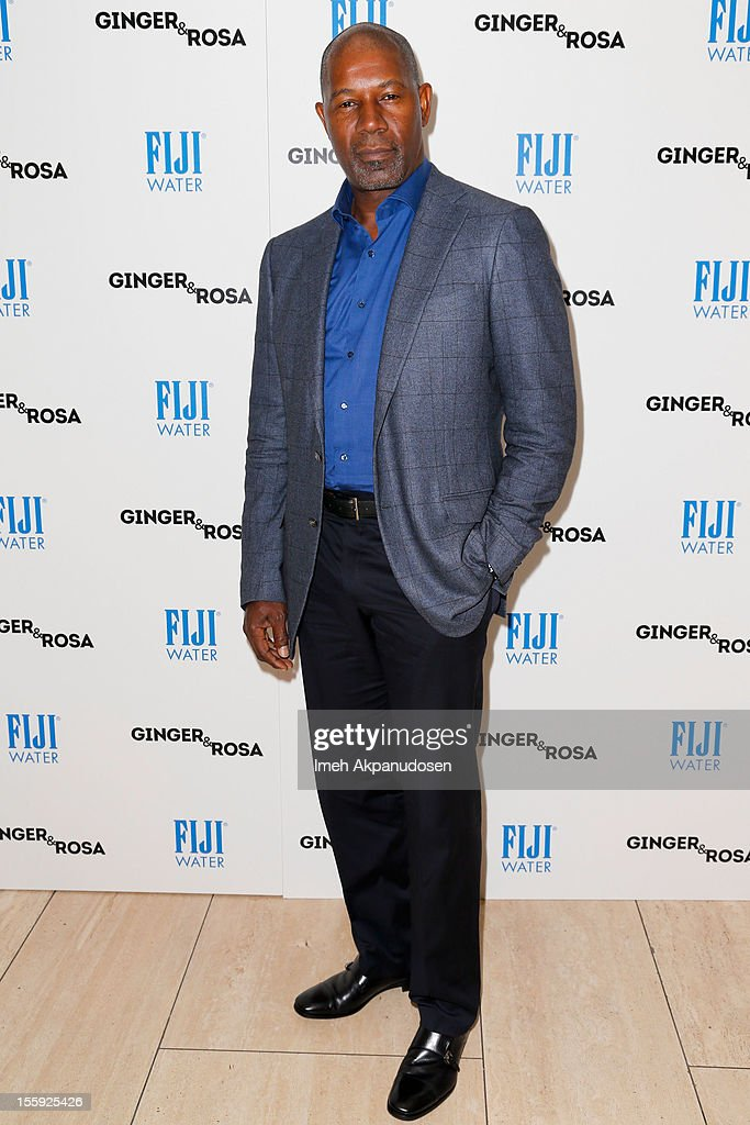 Actor <a gi-track='captionPersonalityLinkClicked' href=/galleries/search?phrase=Dennis+Haysbert&family=editorial&specificpeople=212993 ng-click='$event.stopPropagation()'>Dennis Haysbert</a> attends the screening of A24 Films' 'Ginger & Rosa' at The Paley Center for Media on November 8, 2012 in Beverly Hills, California.
