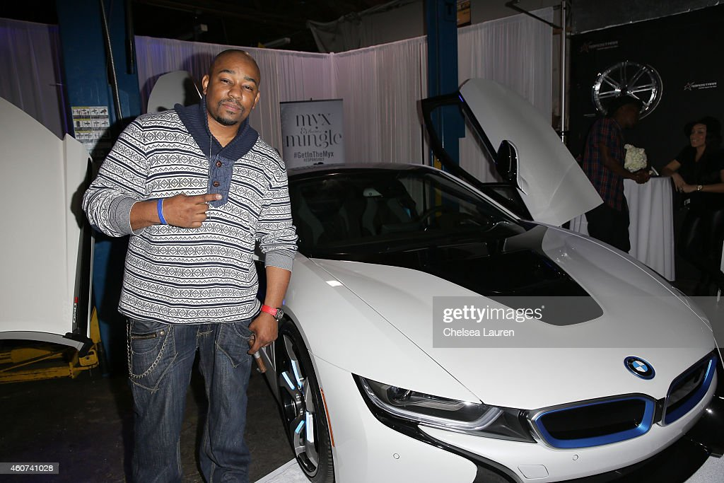 Actor Dennis LA White attends Roadstarr Drive at Roadstarr Motorsports on December 20 2014 in Los Angeles California