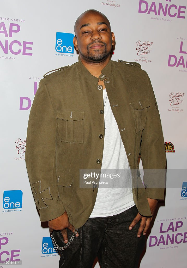 Actor Dennis LA White attends the Los Angeles premiere of 'Lap Dance' at ArcLight Cinemas on December 8 2014 in Hollywood California