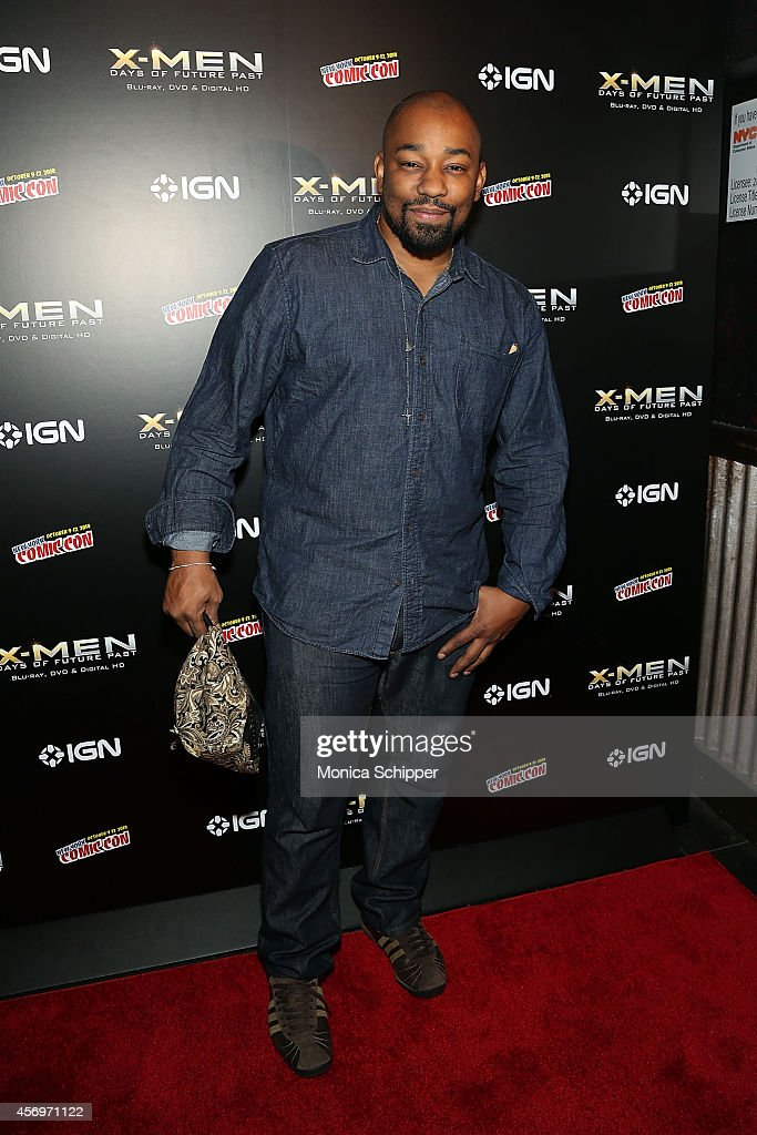 Actor Dennis LA White attends the 'XMen Days Of Future Past' Home Entertainment Release Party at Marquee on October 9 2014 in New York City