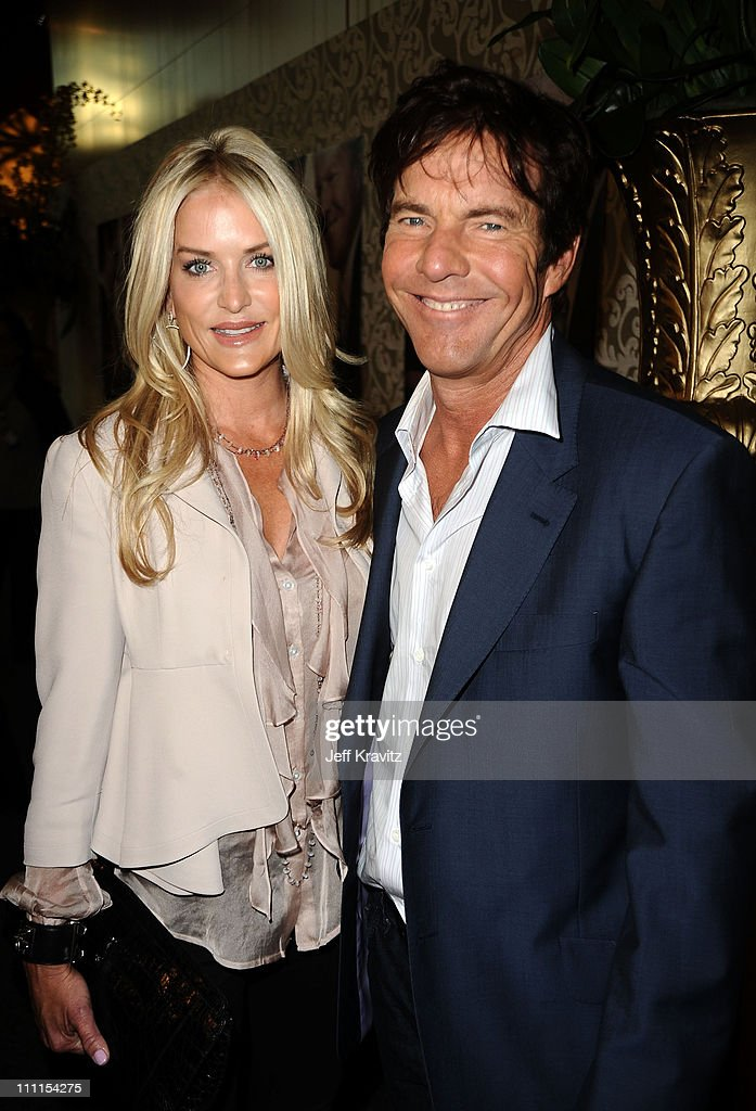 Actor Dennis Quaid and wife Kimberly Quaid arrive to the HBO premiere of 'The Special Relationship' held at Directors Guild Of America on May 19, 2010 in Los Angeles, California.