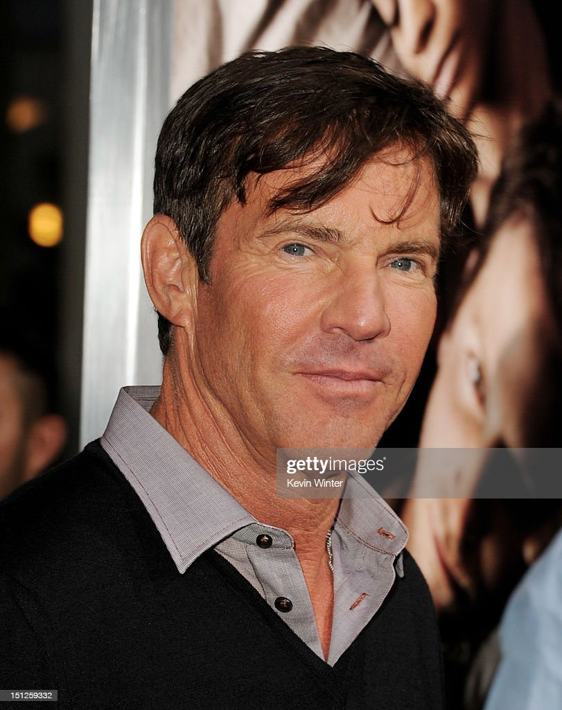Actor Dennis Quaid arrives at the premiere of CBS Films' 'The Words' at the Arclight Theatre on September 4, 2012 in Los Angeles, California.