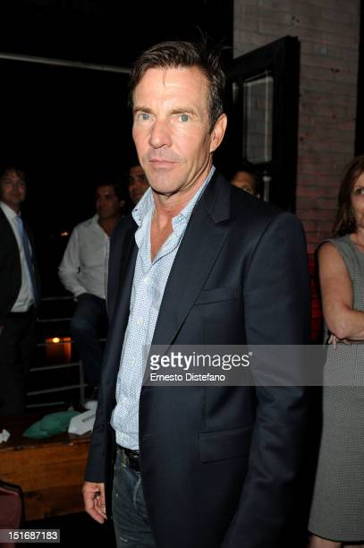 Actor Dennis Quaid attends 'At Any Price' premiere post party during the 2012 Toronto International Film Festival on September 9 2012 in Toronto...